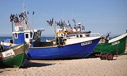 port rybacki w Chłopach